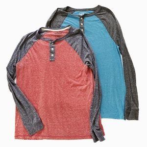 Men's Urban Pipeline Henley Shirts Bundle